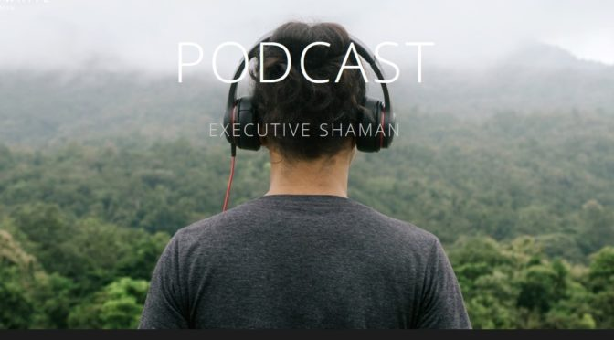 my guest appearance on the executive shaman podcast:   writing in your real voice