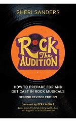 Cover of Rock the Audition by Sheri Sanders.