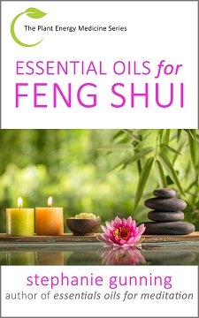Cover of Essential Oils for Feng Shui by Stephanie Gunning, Book 1 in the Plant Energy Medicine Series