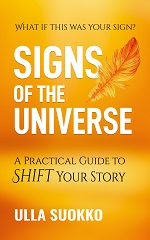 Cover of Signs of the Universe, a book by by Ulla Suokko.